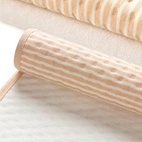 智慧豚 彩棉婴儿隔尿垫 30*45cm*2条装 9.8元包邮(14.8-5券)