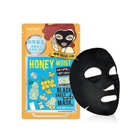 自然晨露 蜂蜜补水保湿竹炭黑面膜 10片盒 折27.9元(49.9,199-100)