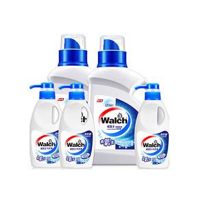 前3分钟# 威露士 有氧洗洗衣液 8点 5瓶装 29.9元包邮(59.9-30)