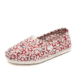 亚诗梵特 女士一脚蹬平底帆布鞋 18.9元包邮(168.9-150券)