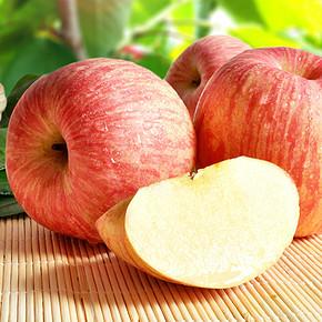 前1分钟# 烟台苹果4斤 送1斤 19.9元包邮(29.9-10)