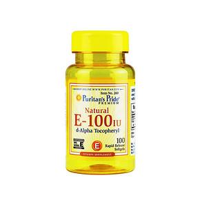 Puritan's Pride 普丽普莱 维生素E-100IU软胶囊 100粒 44.4元(39+5.4)