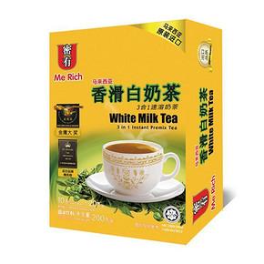 马来西亚 MeRich 密有 香滑白奶茶 20g*10包 4.9元(9.9-5券)