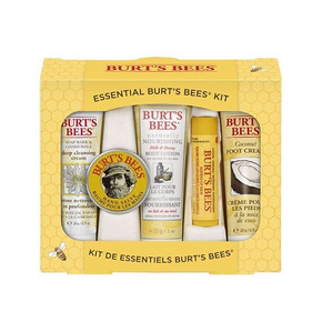 从头到脚的呵护# 小蜜蜂 基础护理礼盒5件套 85元包邮