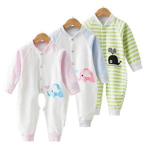 派卡酷 婴儿纯棉长袖连体衣 14.9元包邮(29.9-15券)