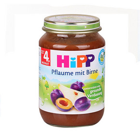 HIPP 喜宝 有机苹果杏子果泥 190g 11.7元(9.9+1.8)