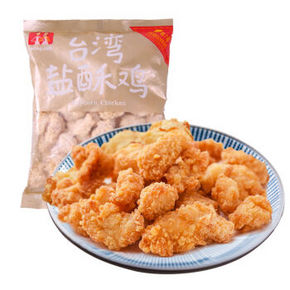 大成姐妹厨房 台湾盐酥鸡 500g 折9元(12.9,99-30)