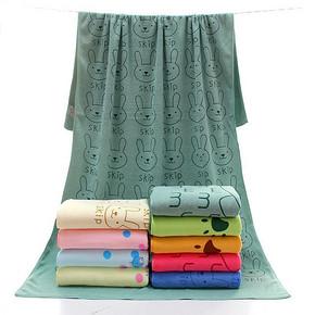 创彩 成人居家浴巾 70*140cm 9.9元包邮