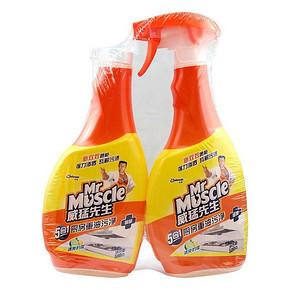 威猛先生 厨卫重油污净 柠檬双包装 500g*2瓶 折18.4元(2件5折)