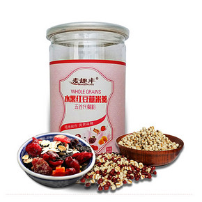 麦趣丰 红豆薏米水果代餐粉 500g 15元包邮(35-20券)