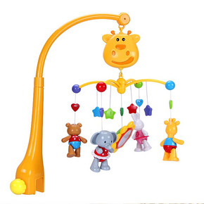 前5分钟半价# 谷雨 新生婴儿床铃玩具 0-1岁 49元(98返49)