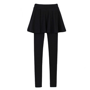 碧琦罗 外穿假两件加厚加绒打底裙裤 29元包邮(69-40券)