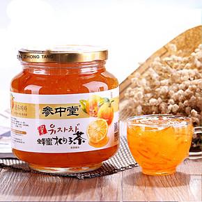 参中堂 蜂蜜柚子茶 1000g 19.8元包邮(29.8-10券)