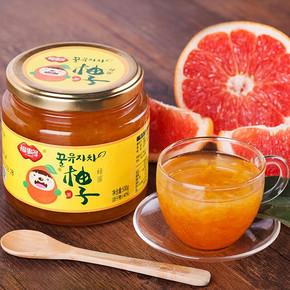 福事多 蜂蜜柚子茶500g  14.9元包邮(17.9-3券)