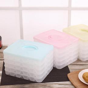 茜维洛 饺子带盖可微波收纳保鲜盒 9.9元包邮(14.5-5券)