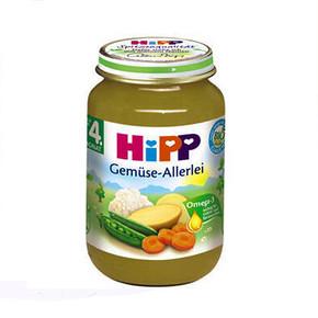HiPP 喜宝 胡萝卜豌豆花菜土豆泥 婴幼儿辅食 190g 11.7元(9.9+1.8)