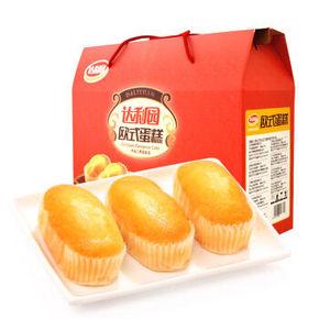 达利园 欧式蛋糕香橙味 600g 折9.9元(99-50)