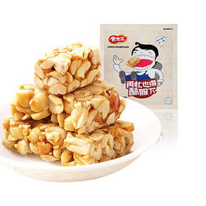 前1分钟半价# 黄老五 原味花生酥 516g 13.9元包邮(27.8-13.9)