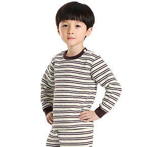超值好价# 南极人 精梳棉儿童保暖内衣套装*4套 79元包邮(196-97-20券)