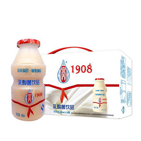 宜养 发酵型乳酸菌饮品 100ml*20瓶 折19.3元(买3免1)