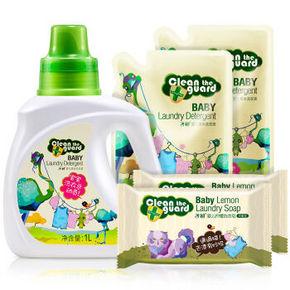 子初 新生儿专用洗衣液2L+洗衣皂150g*2块 折19.9元(199-100)