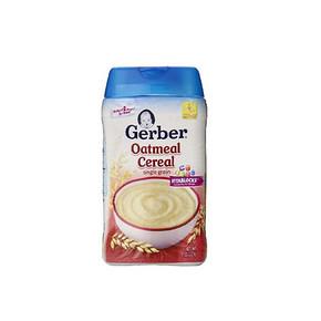 Gerber 嘉宝 婴幼儿米粉 纯燕麦米粉 227g 14.9元
