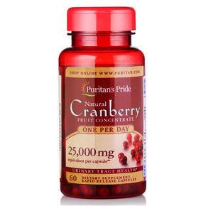 Puritan's Pride 普丽普莱 蔓越莓提取物胶囊 60粒*2件 78元(69+9)