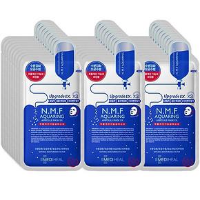 补水神器# 美迪惠尔 N.M.F水润保湿面膜25ml*28片168元包邮