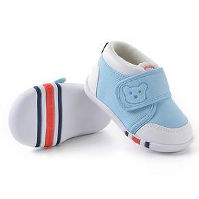 休闲学步# 洛米笛诺 防滑软底宝宝学步鞋 19.9元包邮(59.9-40券)