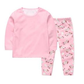 lice 儿童卡通保暖内衣套装  29.9元包邮(39.9-10券)