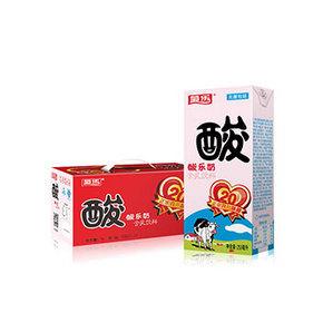 菊乐 酸乐奶 酸牛奶饮料 250ml*16盒 29.9元包邮(39.9-10券)