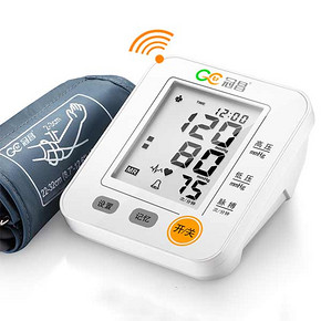 冠昌 上臂式语音大屏幕血压计测量仪 送礼品 48元包邮(118-20-50券)