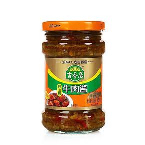 拌饭好酱# 吉香居 野山椒牛肉酱 218g 5.9元