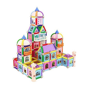 探索者 儿童益智玩具拼插磁性积木 88件套 9.9元包邮(29.9-20券)