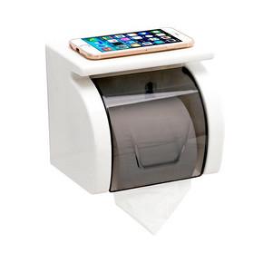 双庆 卫生间免打孔防水纸巾盒 11.8元包邮(26.8-15券)