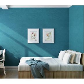 海宝 3D立体纯色蚕丝墙纸 9.5*0.53m 5.7元包邮(35.7-30券)