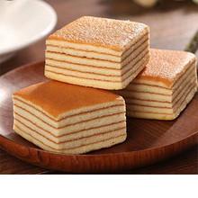 舌尖上的美味# 回头客 千层蛋糕营养点心礼盒装 500g 18.9元包邮(23.9-5券)