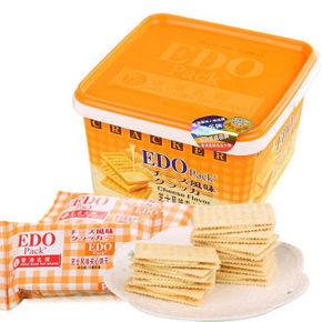 EDO pack 芝士风味夹心苏打饼干 600g 19.8元
