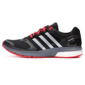 阿迪达斯 运动系列 男子跑步鞋 黑色 369元包邮