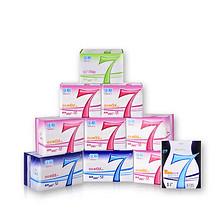 超薄透气# 佳期 卫生巾组合装 9包共104片 39.9元包邮(59.9-20券)