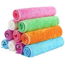 竹天帛 竹纤维洗碗巾 10条装 14.2元包邮(19.2-5券)