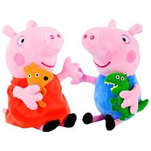 伴睡小猪# 小猪佩奇 可爱毛绒玩具 19cm 14元包邮(24-10券)