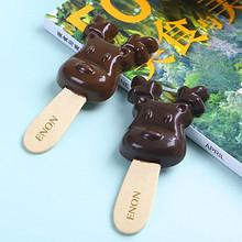 怡浓 牛奶黑巧克力棒棒糖礼盒 10g*12支 29.9元包邮(39.9-10券)