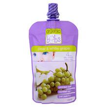 Bubs 贝儿 有机梨、白葡萄果泥 120g 11.7元(9.9+1.8)