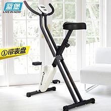 健康全家享# 蓝堡 家用健身动感单车 带表盘  129元包邮(159-30券)