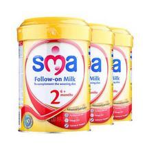 惠氏 SMA 2段奶粉 900g*3罐 273元(259+29-15券)
