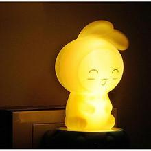 温暖亮光# 久量 LED创意床头小夜灯 6.9元包邮(9.9-3券)