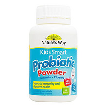 NATURE'S WAY 佳思敏 澳大利亚儿童益生菌粉50g*4瓶 129.8元(116+13.8)