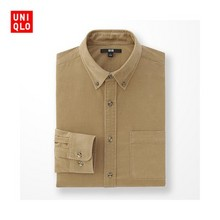 UNIQLO 优衣库 男士灯芯绒衬衫 多色可选 99元