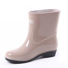 不怕湿哒哒# 回力 高筒保暖雨靴 19元包邮(24-5券)